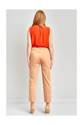 Ekol Kadın Kemerli Likralı Pantolon 4