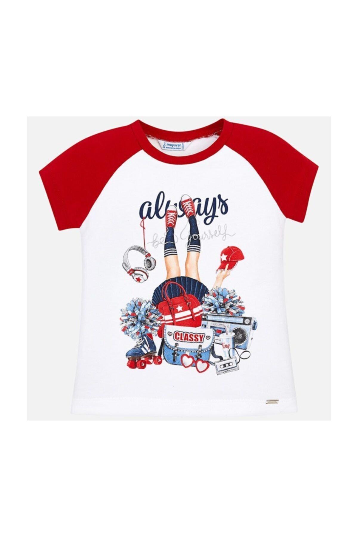 Kız Çocuk Baskılı T-shirt