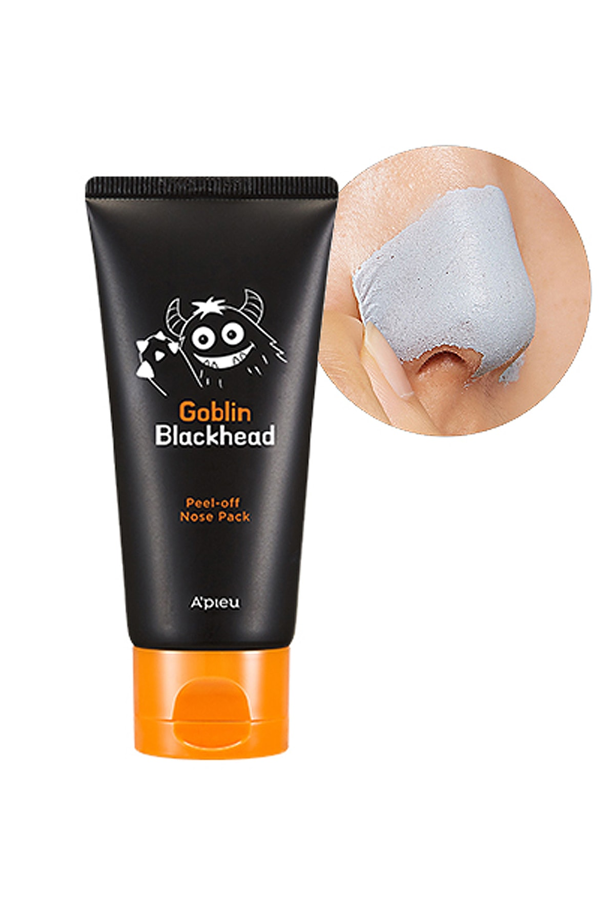Missha A'PIEU Goblin Blackhead Peel-Off Nose Pack 0
