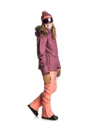 Roxy Creek PT Kadın Kayak Pantolonu Turuncu 3