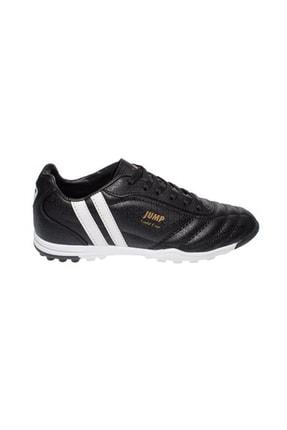 13258 Erkek Çocuk Halı Saha Spor Ayakkabısı, 36-39 Numara,siyah resmi
