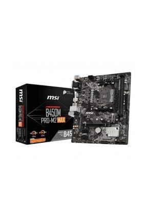 MSI B450M PRO-M2 Max AMD B450 3200MHz DDR4 mATX Anakart 0