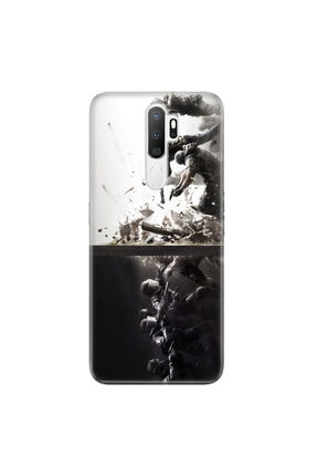Cekuonline Samsung Galaxy A9 2020 Kılıf Desenli Resimli Hd Silikon Telefon Kabı Kapak - Tom Clancy 0