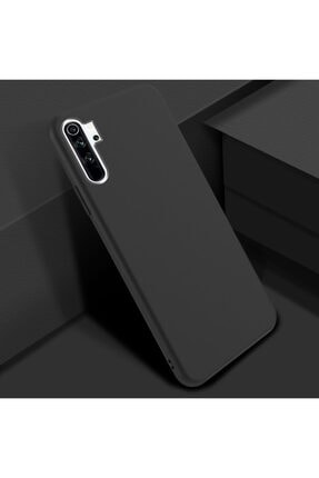 Zipax Xiaomi Redmi Note 8 Kılıf -anano Soft Pürüzsüz Renkli Silikon - Siyah 0