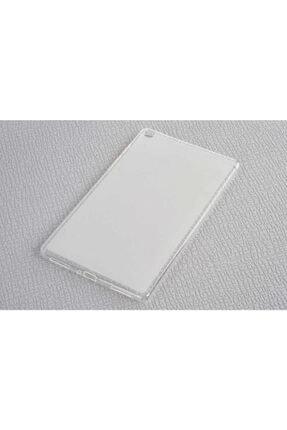 Dijimedia Samsung Galaxy Tab A 8.0 T290 Kılıf Süper Silikon Beyaz 0