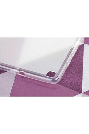 Dijimedia Samsung Galaxy Tab A 8.0 T290 Kılıf Süper Silikon Beyaz 2