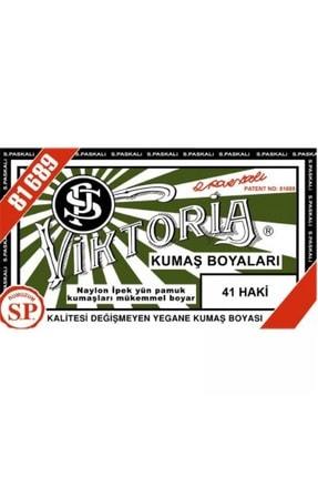 Viktoria 41 Haki Rengi Toz Kumaş Boyası 10 gr 0