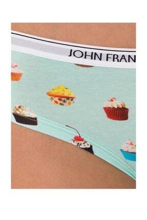 John Frank Kadın Çok Renkli Hipster Külot 2