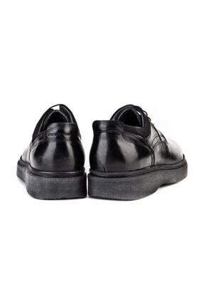 Cabani Bağcıklı Klasik Erkek Ayakkabı Siyah Analin Deri 2