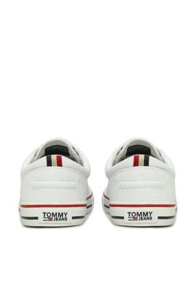 Tommy Hilfiger Erkek Textile Sneaker EM0EM00001 3