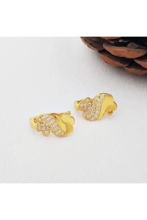 altınplaza Kadın Taşlı Altın Küpe Kp00841 0
