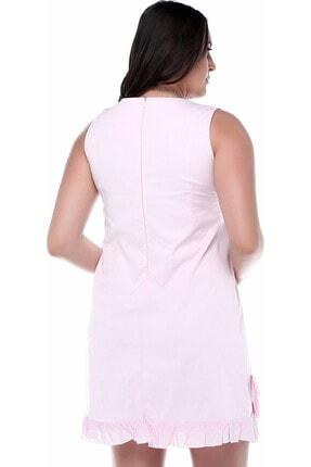 B&S LINE Kadın Etek Ucu Fırfırlı Elbise 1