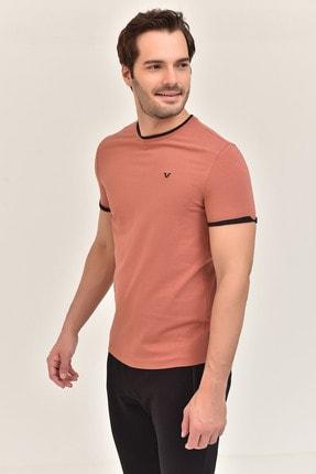 bilcee Kiremit  Pamuklu Erkek T-Shirt ES-2374 1