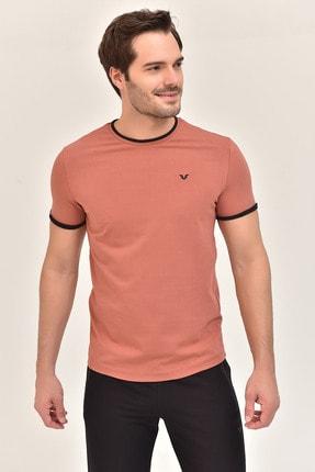 bilcee Kiremit  Pamuklu Erkek T-Shirt ES-2374 4