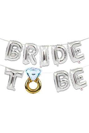 Partifabrik Bride To Be Folyo Balon Seti 40 Cm 0