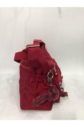 Eliza Çok Gözlü  Kadın  Krinkıl Kumaş Çapraz Askılı Çanta 4