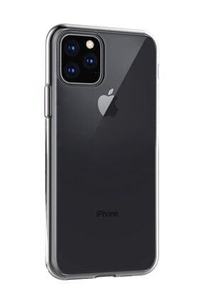 Microsonic iPhone 11 Pro Max (6.5'') Kılıf, Microsonic Transparent Soft Beyaz 3
