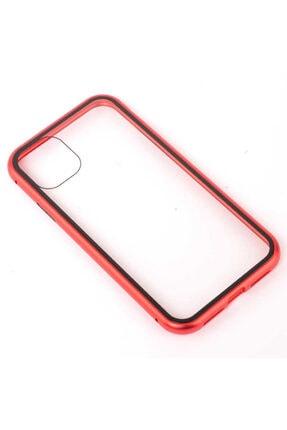 Dijimedia Apple Iphone 11 Kılıf Devrim Mıknatıslı Cam Kapak 0