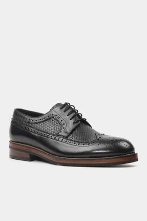 Hotiç HAKİKİ DERİ Siyah Erkek Klasik Ayakkabı 1