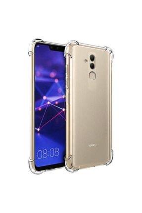 ACK Huawei Mate 20 Lite Kılıf Ultra Koruma Köşeleri Kalınlaştırılmış Antishock Şeffaf Silikon 0