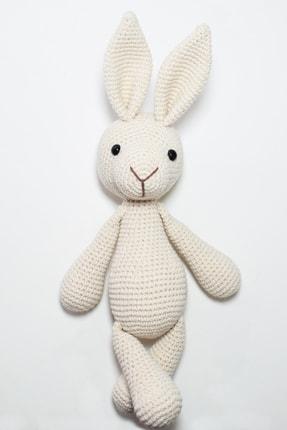 Enjoymydesign Organik Tavşan Oyuncak Uyku Arkadaşı 35 cm Krem 0