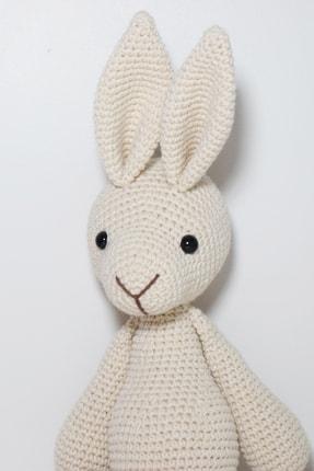 Enjoymydesign Organik Tavşan Oyuncak Uyku Arkadaşı 35 cm Krem 1