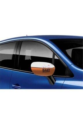 Pi İthalat Araç Ayna Kılıfı 2 Adet - Baby On Board 1