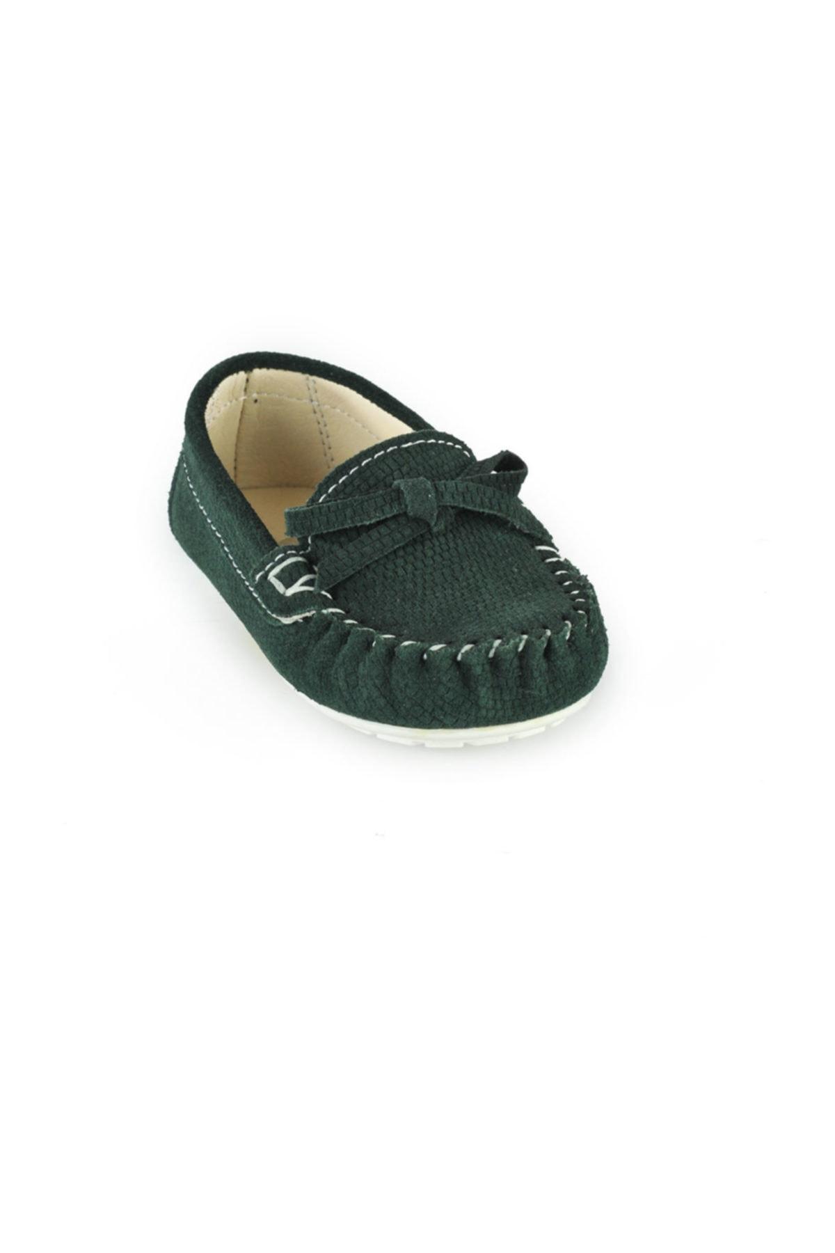 Loafer Yeşil  Çocuk Ayakkabı