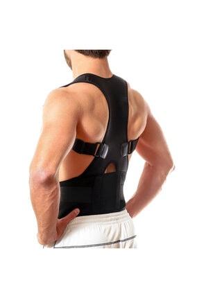 Ecoform Kanburluk Önleyici Ayarlanabilir Posturex Manyetik Medikal Ortopedik Dik Duruş Korsesi 3