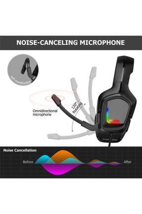 Onikuma K20 Rgb Kulak Üstü Oyuncu Kulaklıgı - Siyah 3