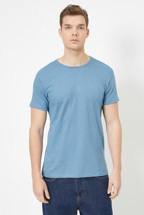 Koton Erkek Mavi T-Shirt 0YAM12136LK 1