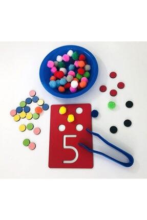 Okhool Montessori Rakam Öğrenme Seti 1