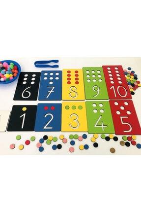 Okhool Montessori Rakam Öğrenme Seti 4