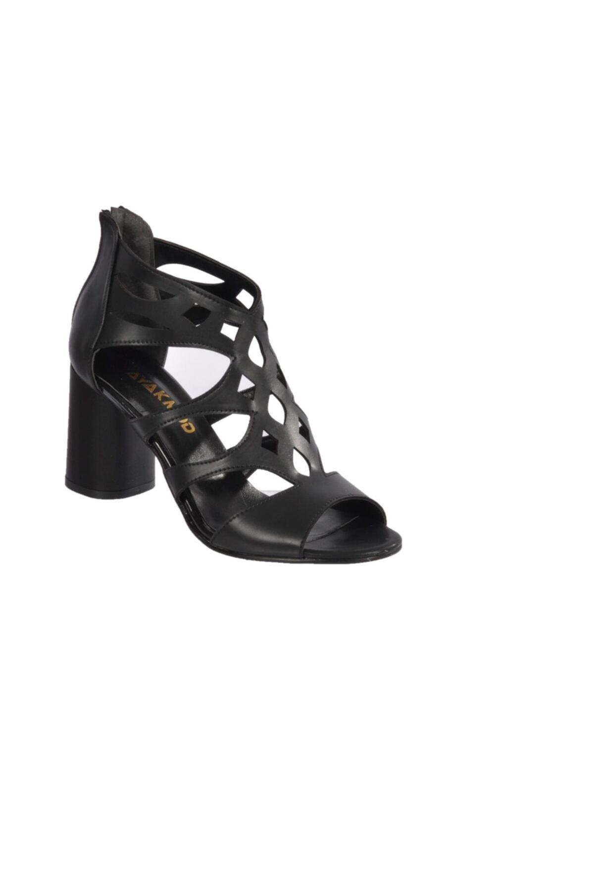 Maje Kadın 9837 Siyah Topuklu Ayakkabı