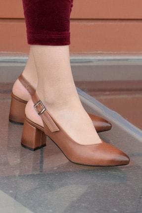 SWELLA Kahverengi Kadın Topuklu Ayakkabı 0