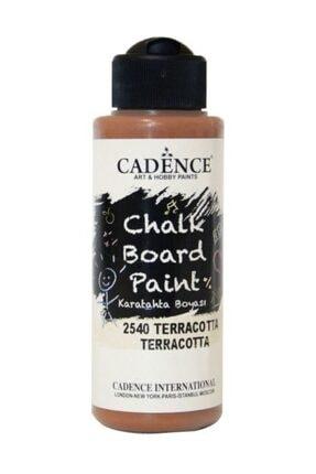 Cadence Boya Chalkboard Paint 120ml Kara Tahta Boyası 2540 Terracotta 0
