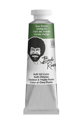 Bob Ross Çiçek Serisi Soft Yağlı Boya 37 ml. SAP GREEN 0