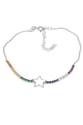 Masaliko Yıldız Neon Gümüş Bileklik Sb1960 1