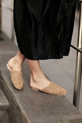 Shoe Miss Lola Hasır Terlik 1