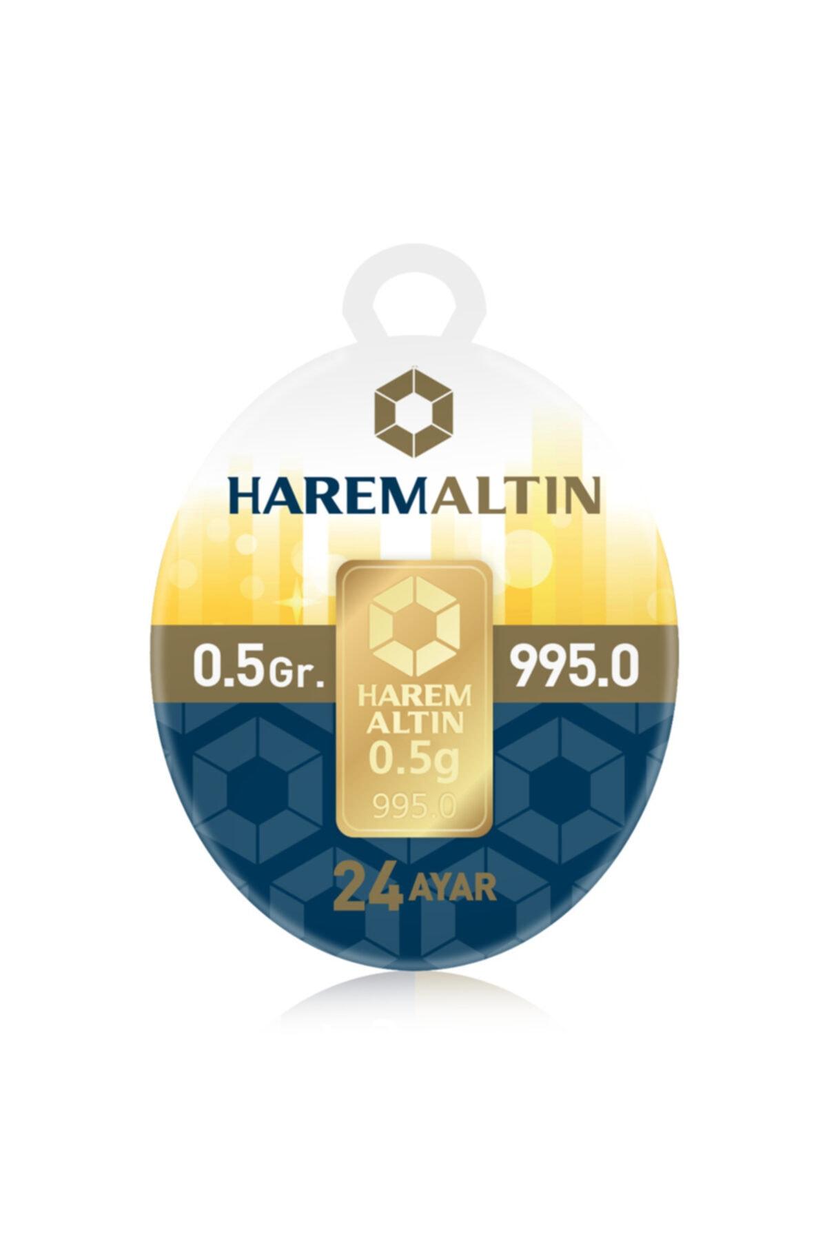 24 Ayar Harem Külçe Altın 0.5 gr