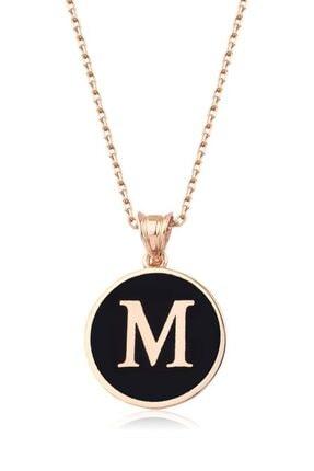 Mai Silver Kadın 925 M Harfi Kolye 0