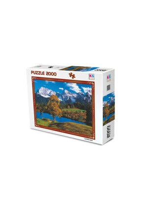 2000 Parça Puzzle Seti (Baverian Alps) 16 puzzle 2000 parça