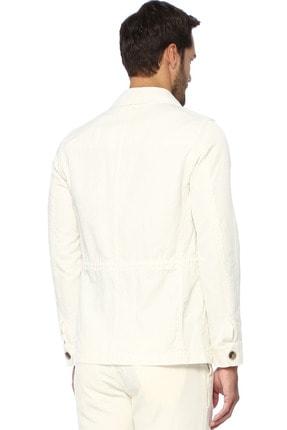 Network Erkek Slim Fit Ekru Coat Ceket 1073542 2