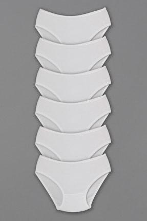 Altun Kız Çocuk Penye Külot - 6 Adet 0