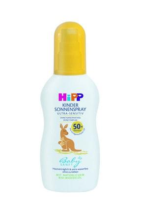 Hipp Babysanft Sprey Güneş Kremi 50+ Faktör 150 ml 0