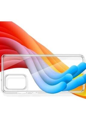 Ally Mobile Samsung Galaxy S20+ Plus Kamera Korumalı Silikon Kılıf Şeffaf 2