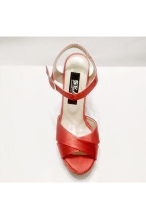 Silver Seapabuc Pilatformlu Kalın Topuk Abiye Ayakkabı 3