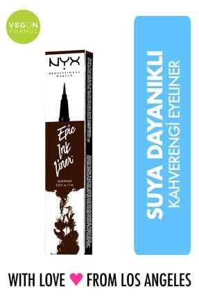 NYX Professional Makeup Kahverengi Eyeliner - Epic Ink Liner Brown 800897177478 800897177478 0