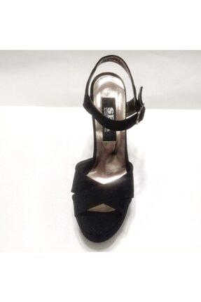 Silver Seapabuc Pilatformlu Kalın Topuk Abiye Ayakkabı 4