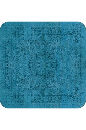 RugViva Dijital Banyo Halısı Klozet Takımı 2'li Paspas Seti Bs234 50x80cm + 50x50cm 2